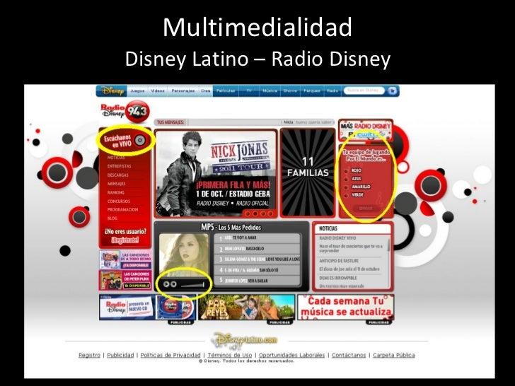 Multimedialidad Disney Latino – Radio Disney