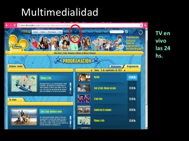 Multimedialidad TV en vivo las 24 hs.
