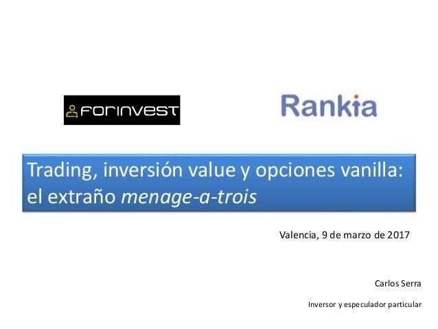 Trading talks carlos serra - Carlos serra ...