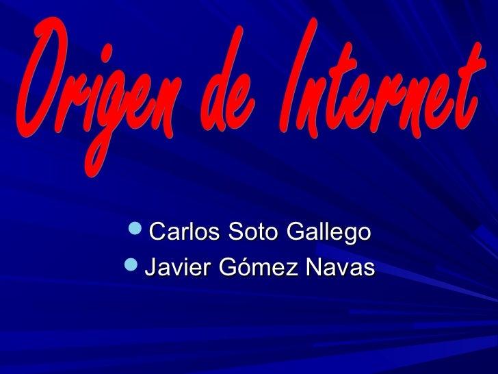 Carlos Soto GallegoJavier Gómez Navas