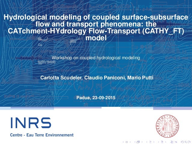 Hydrological modeling of coupled surface-subsurface flow and transport phenomena: the CATchment-HYdrology Flow-Transport (C...