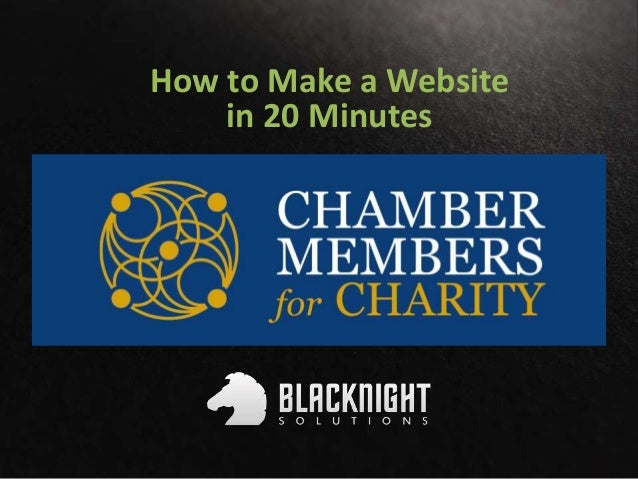 How to Make a Website in 20 Minutes