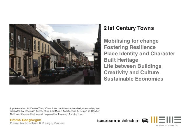 21st Century Towns                                                                               Mobilising for change    ...