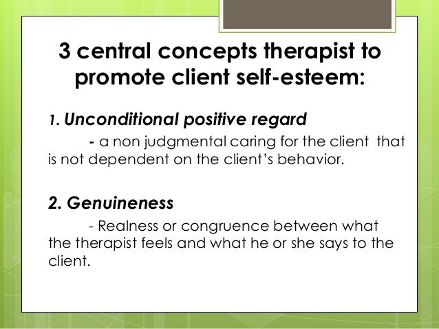 an understanding of the intentional caring abilities and the therapeutic relationship of client and  Relationship was introduced as an essential element of care since the  original  studies relevant to the therapeutic relationship were included exclusion criteria  include abstracts that were irrelevant to the concept of study, grey  phase of  the nurse-client relationship genuine nurse-client dyads and client.