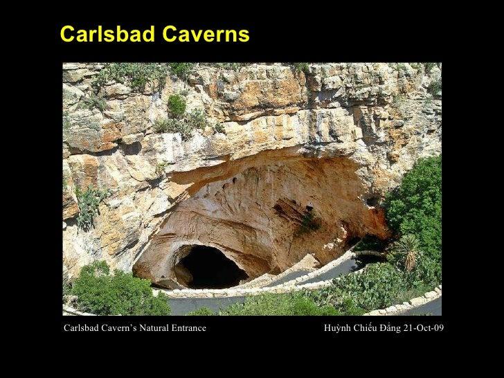 Carlsbad Caverns Carlsbad Cavern's Natural Entrance Huỳnh Chiếu Đẳng 21-Oct-09