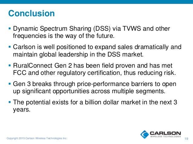 Carlson Wireless Technologies - Gen 3 TV White Space Radio ...