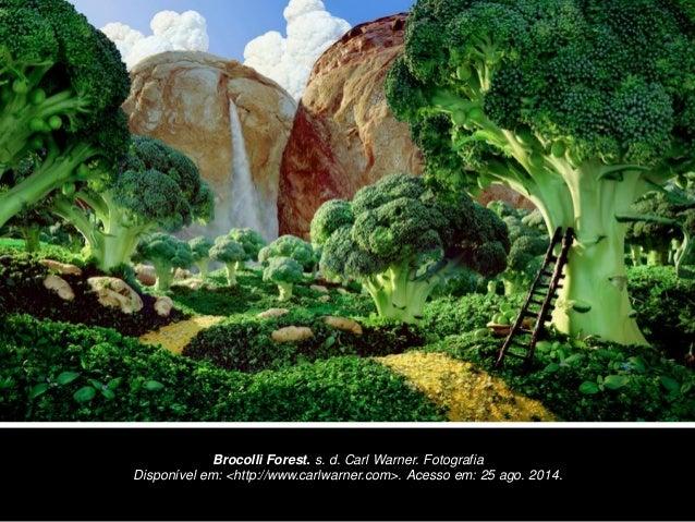 Brocolli Forest. s. d. Carl Warner. Fotografia  Disponível em: <http://www.carlwarner.com>. Acesso em: 25 ago. 2014.