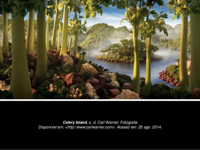 Celery Island. s. d. Carl Warner. Fotografia Disponível em: <http://www.carlwarner.com>. Acesso em: 25 ago. 2014.