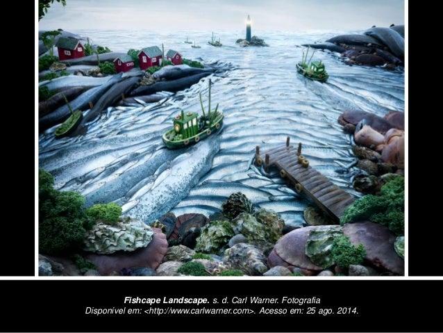 Fishcape Landscape. s. d. Carl Warner. Fotografia Disponível em: <http://www.carlwarner.com>. Acesso em: 25 ago. 2014.