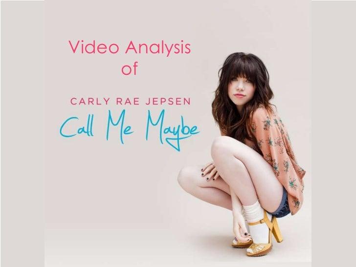 Video Analysis     of