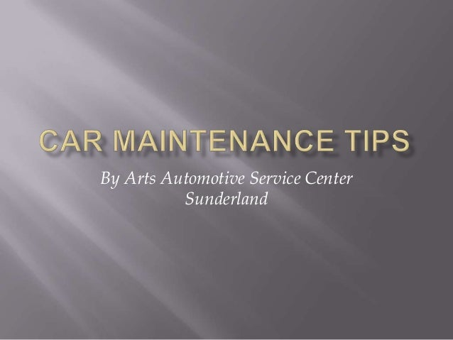 By Arts Automotive Service Center Sunderland