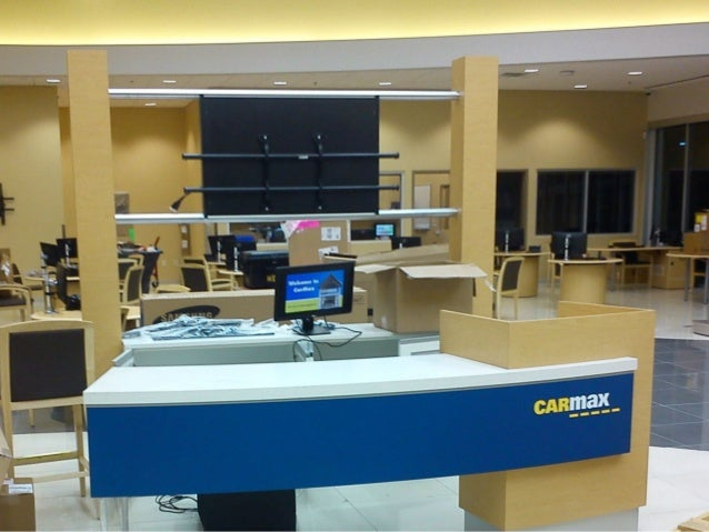Installation Of Store Fixtures At New Locations For Carmax