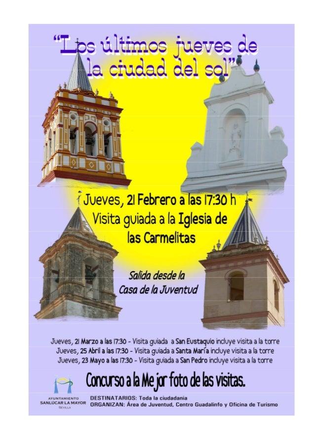 ECHALE UN VISTAZO A TUS MONUMENTOS.                                                        IGLESIA CONVENTUAL CARMELITAS D...