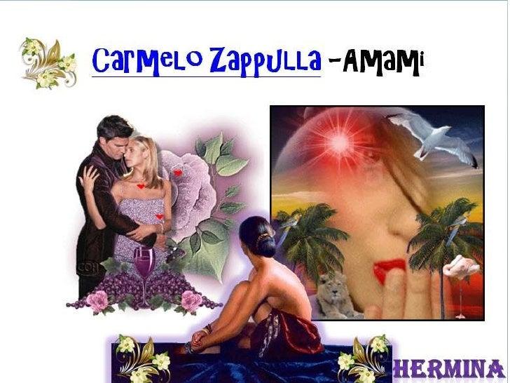 Carmelo zappulla amami 3