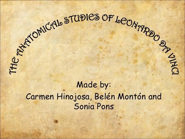 Made by:Carmen Hinojosa, Belén Montón andSonia Pons