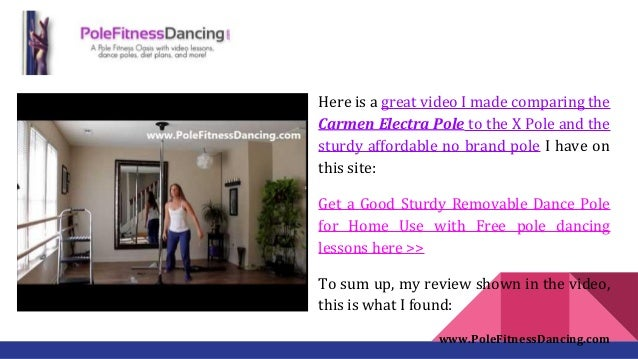 Carmen Electra Pole Review Professional Spinning Stripper Pole