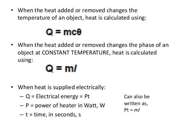 SPM Form 4 Physics - Heat