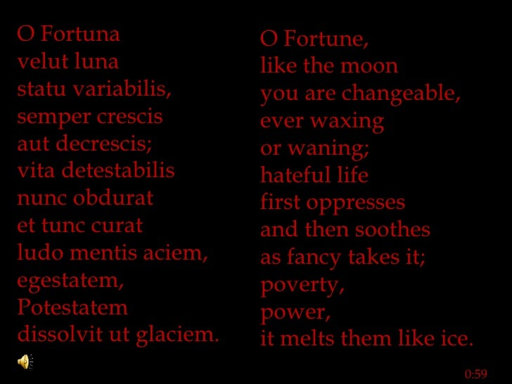 Carl Orff - Carmina Burana Lyrics | MetroLyrics