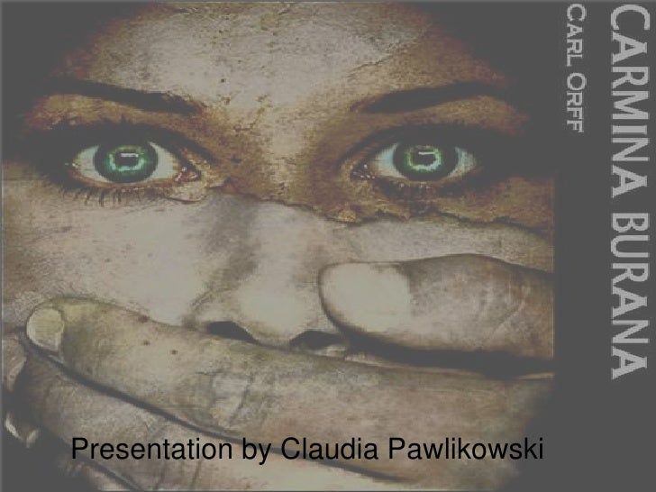 Presentation by Claudia Pawlikowski