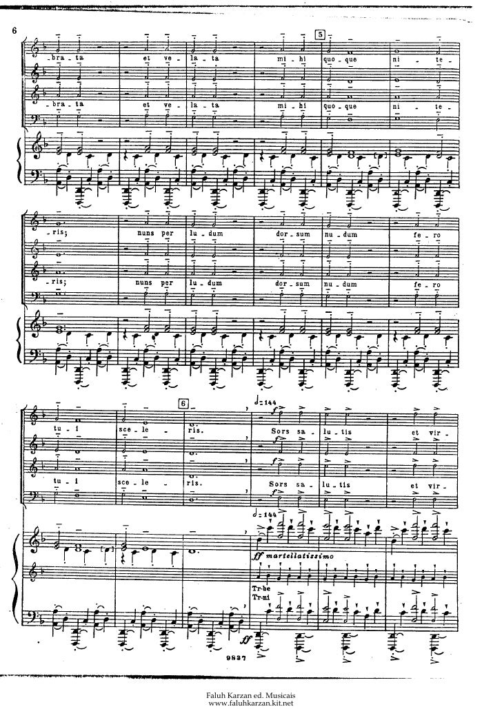carl orff carmina burana vocal score pdf download