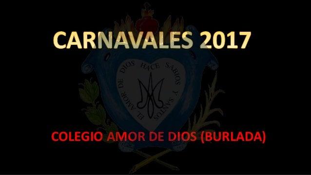 Carnavales colegio amor de dios - Colegio amor de dios oviedo ...