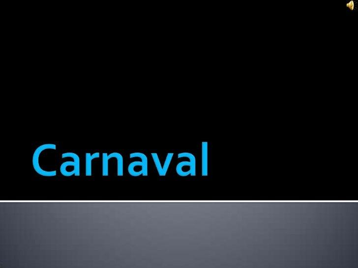 Carnaval<br />