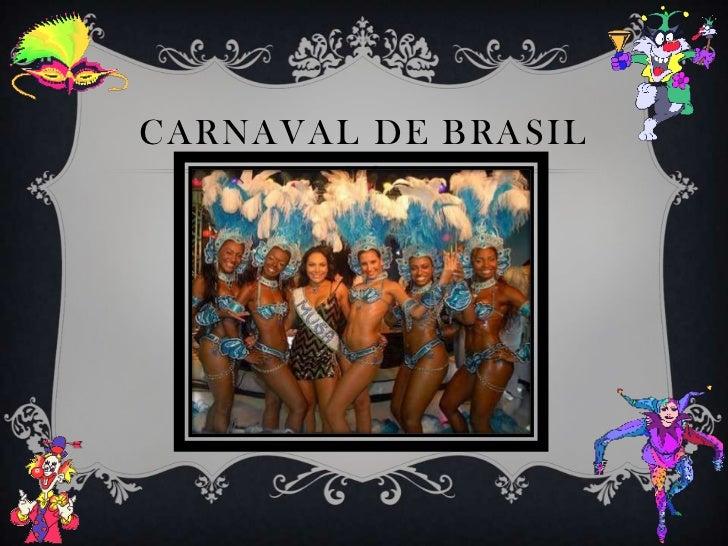 Carnaval de Brasil<br />