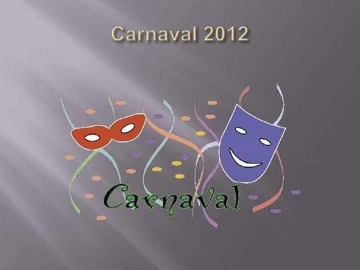 Carnaval edu