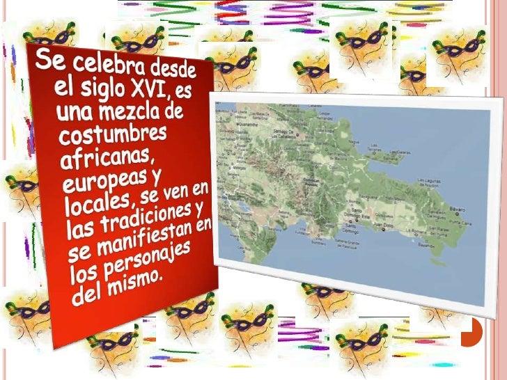 Carnaval En República Dominicana Slide 2
