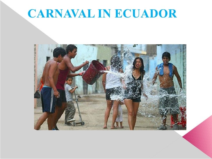 CARNAVAL IN ECUADOR