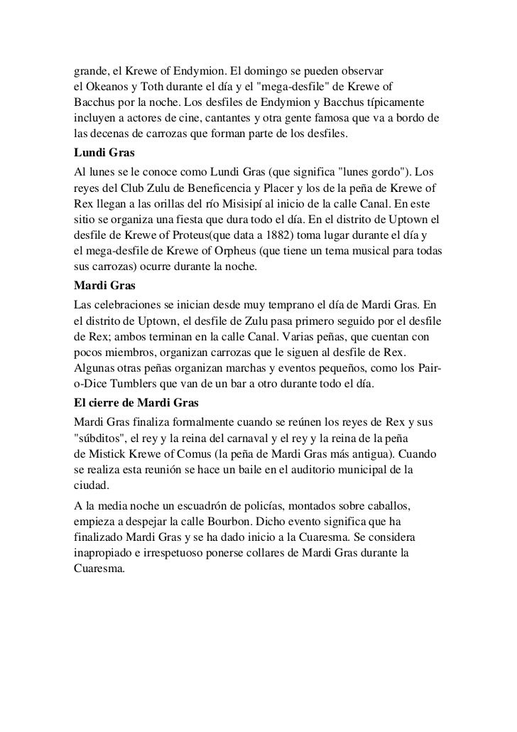 Carnaval nueva orleans bien