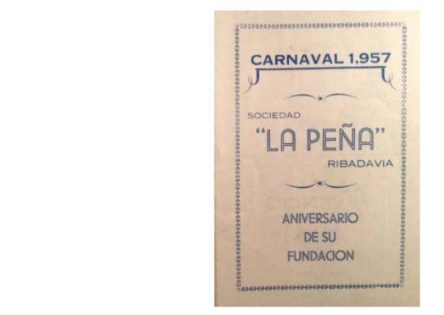 Carnaval peña 1957