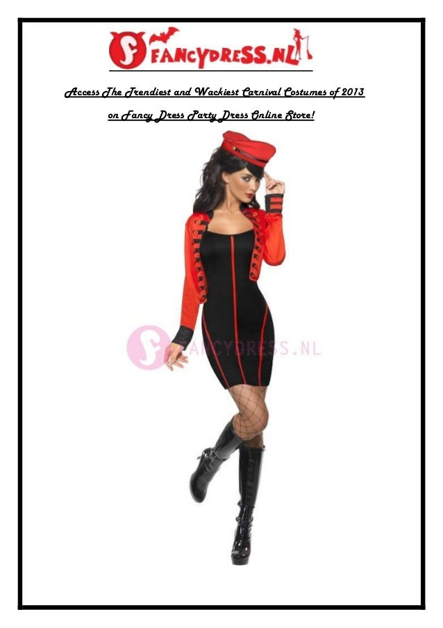 Access The Trendiest and Wackiest Carnival Costumes of 2013        on Fancy Dress Party Dress Online Store!