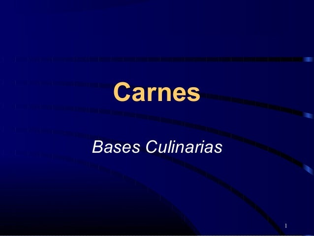 1CarnesBases Culinarias