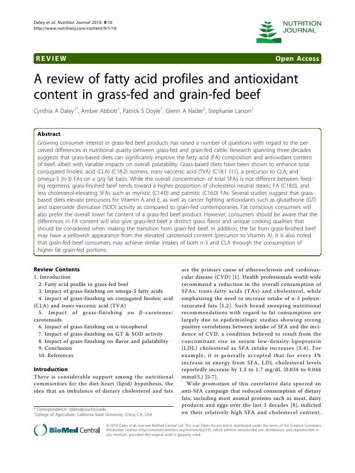 Daley et al. Nutrition Journal 2010, 9:10http://www.nutritionj.com/content/9/1/10 REVIEW                                  ...