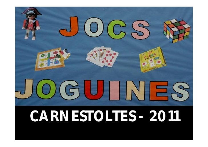 CARNESTOLTES - 2011