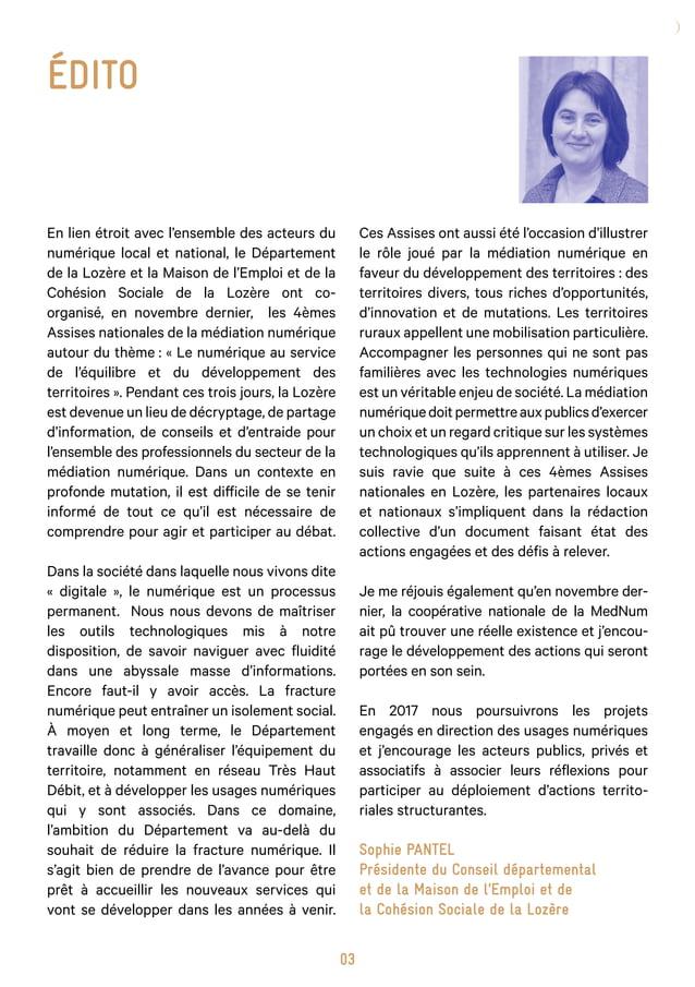 04 Sommaire p.05 p.09 p.15 p.21 p.27 p.33 p.39 p.42 p.45 p.46 Préface Un document opérationnel : constats, défis, proposit...