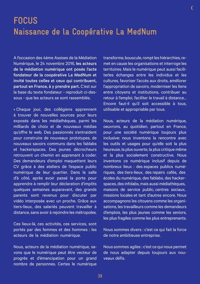 L'Agence du Numérique en collaboration avec la Maison de l'Emploi et de la Cohésion Sociale de la Lozère - Février 2017 ww...