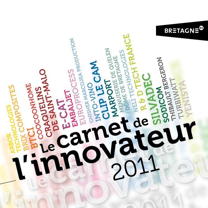 Carnet de l'innovateur :                                                                                                  ...