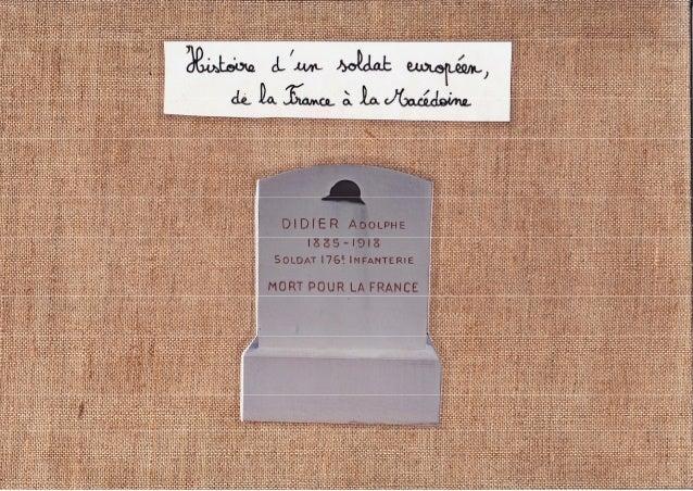 Carnet Adolphe Didier - Ecole Montaigne