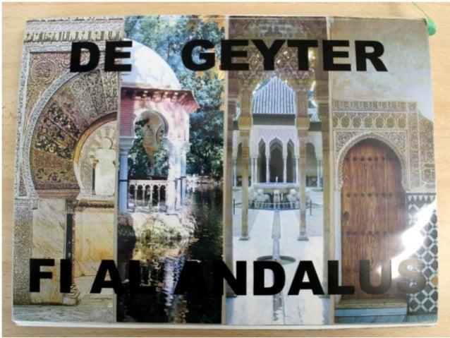 Carnet de voyage Degeyter fi al andalus