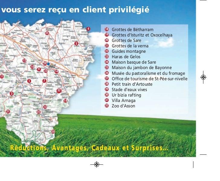 Carnet privil ge web - Office de tourisme saint pee sur nivelle ...