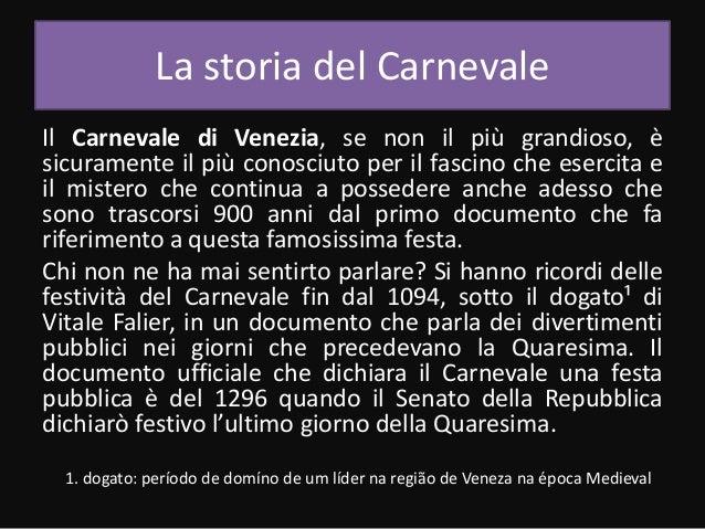 Carnevale di Venezia Slide 2