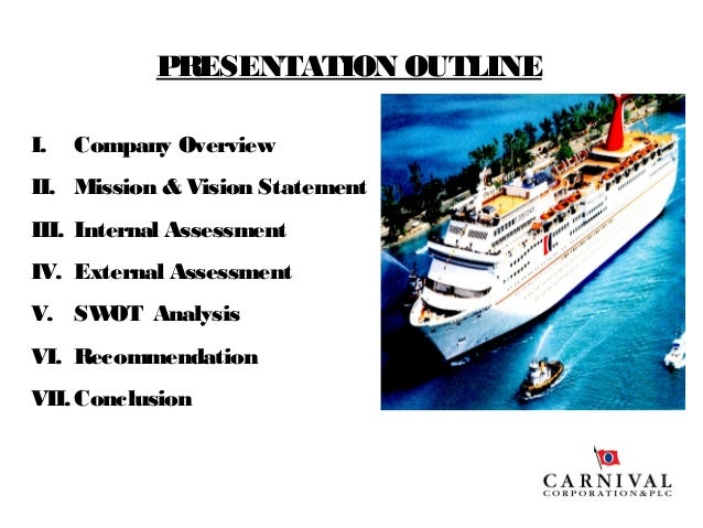 Carnival Corporation & plc SWOT Analysis