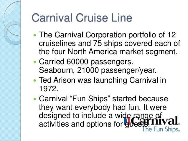 carnival cruise a swot analysis Carnival corporation & plc - swot, strategy and corporate finance report, is a source of comprehensive company data and information the report covers the company's structure, operation, swot analysis, product and service offerings, etc.