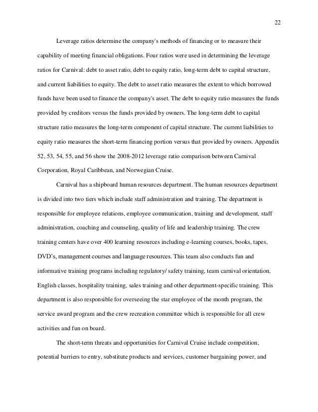Carnival cruise report copy