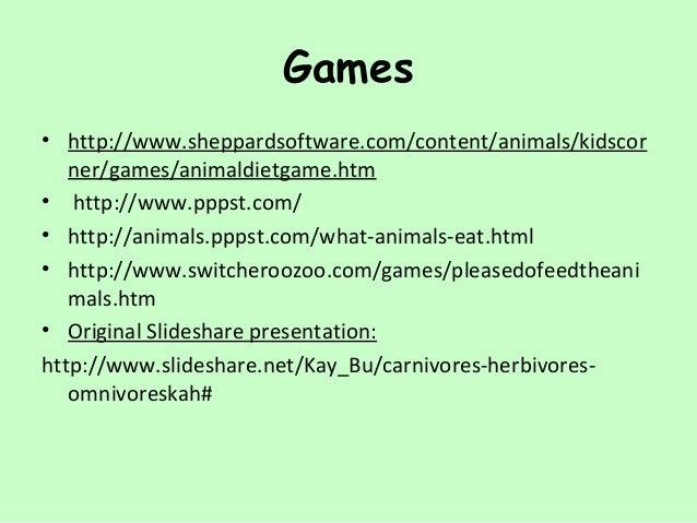 Carnivores kid's corner sheppard software.
