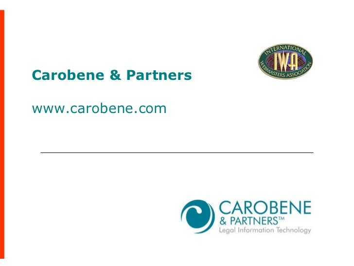 Carobene & Partners www.carobene.com