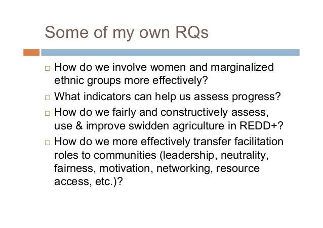 Logistical Needs How do we evaluate & prove our successes, giventhe qualitative nature of the process? How do we satisfy...