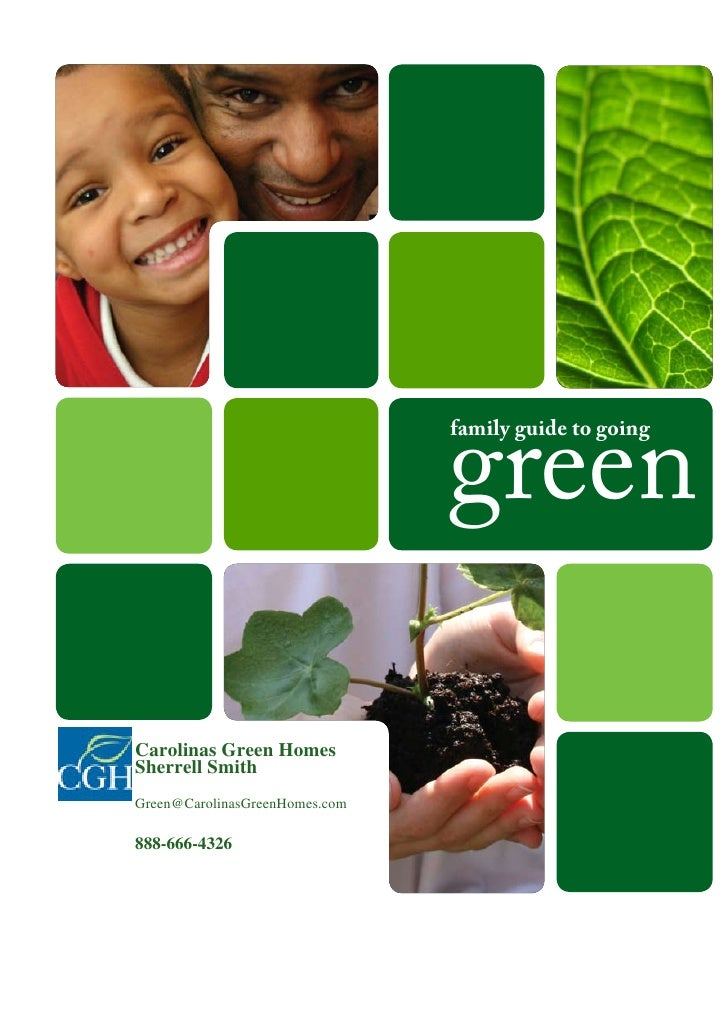 Carolinas green homes family guide to going green